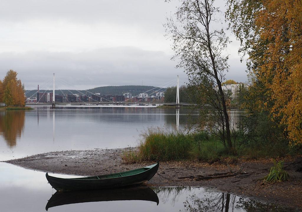 Jyväsjärvi syksyllä